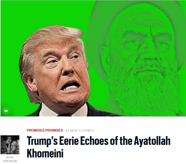 حرفاش شبیه خمینی دجاله. ولی بعید میدونم مثل ربدن خمینی به ایران بتونه برینه به آمریکا. ما که براش دعا می کنیم... با آرزوی موفقیت